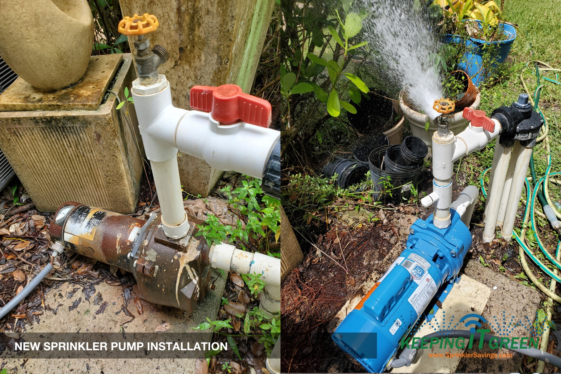 Irrigation Pump Installation And Repairs Keeping It